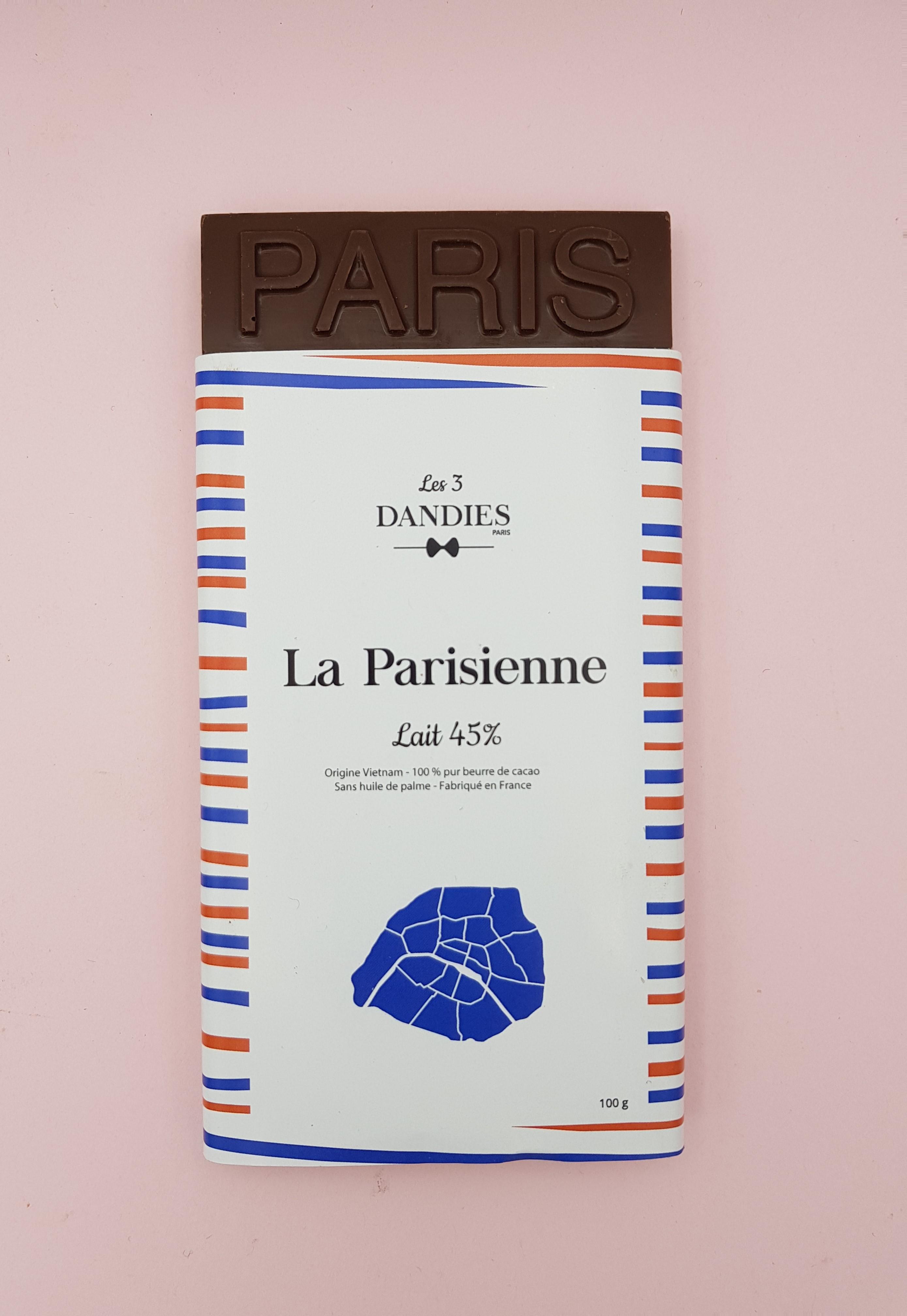 La Parisienne Lait 45%